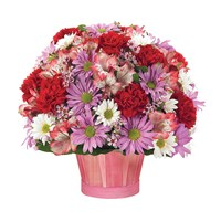 """A Few of My Favorite Things"" baskets of flowers (BF119-11KL)"