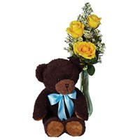 Baby's first bouquet - boy (BF219-11KM)